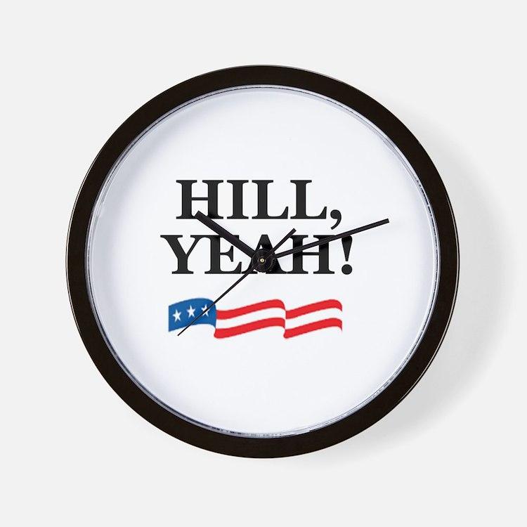 HILL, YEAH! Wall Clock