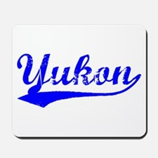 Vintage Yukon (Blue) Mousepad
