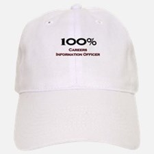 100 Percent Careers Information Officer Baseball Baseball Cap