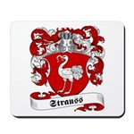 Strauss Family Crest Mousepad