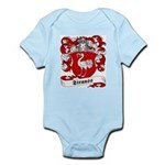 Strauss Family Crest Infant Creeper