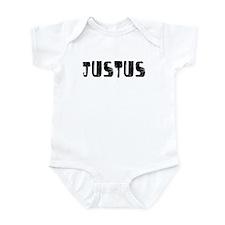 Justus Faded (Black) Infant Bodysuit