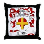 Streng Family Crest Throw Pillow