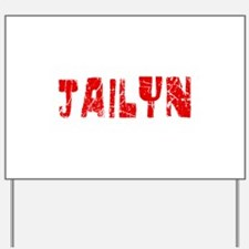 Jailyn Faded (Red) Yard Sign