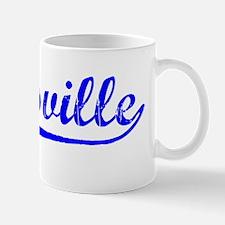 Vintage Zanesville (Blue) Mug