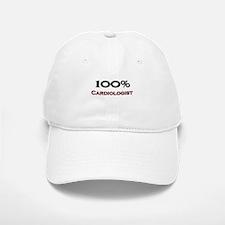 100 Percent Cardiologist Baseball Baseball Cap