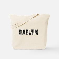 Kaelyn Faded (Black) Tote Bag