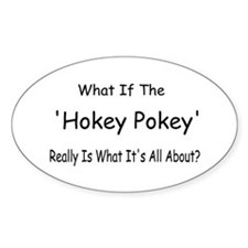 Hokey Pokey Oval Decal