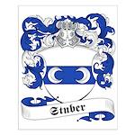 Stuber Family Crest Small Poster