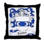 Stuber Family Crest Throw Pillow