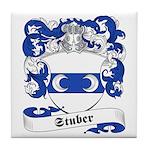 Stuber Family Crest Tile Coaster