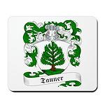 Tanner Family Crest Mousepad