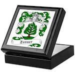 Tanner Family Crest Keepsake Box