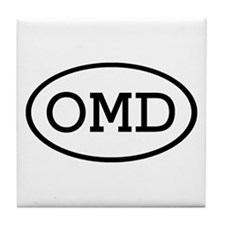 OMD Oval Tile Coaster