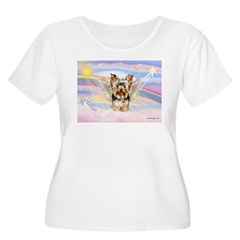Yorkie (#17) in Clouds T-Shirt