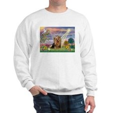 Cloud Angel & Yorkie Sweatshirt