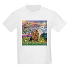Cloud Angel & Yorkie T-Shirt