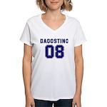 Dagostino 08 Women's V-Neck T-Shirt