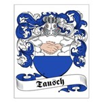 Tausch Family Crest Small Poster
