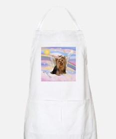 Yorkie Angel in Clouds BBQ Apron