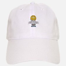 Smiley Feline Massage Baseball Baseball Cap