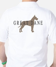 great dane greytones Golf Shirt