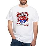 Trager Family Crest White T-Shirt