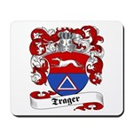 Trager Family Crest Mousepad