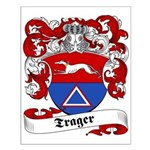 Trager Family Crest Small Poster