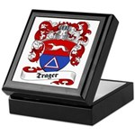 Trager Family Crest Keepsake Box
