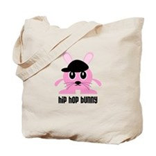 Hip Hop Bunny Tote Bag
