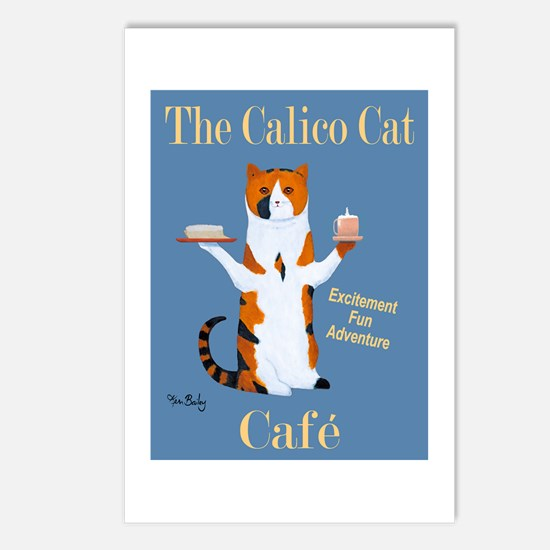 Calico Cat Café Postcards (Package of 8)