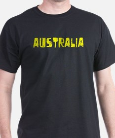 Australia Faded (Gold) T-Shirt