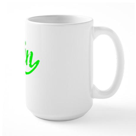 Vintage Tristin (Green) Large Mug