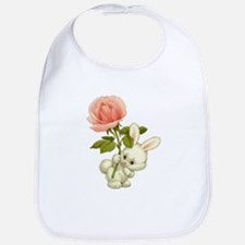 A Rose for Easter Bib