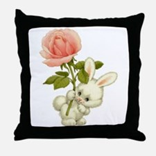 A Rose for Easter Throw Pillow