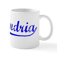Vintage Alexandria (Blue) Mug