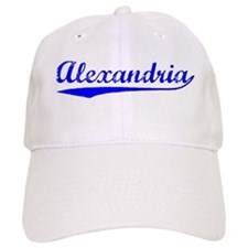 Vintage Alexandria (Blue) Baseball Cap