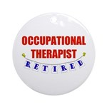 Retired Occupational Therapist Ornament (Round)