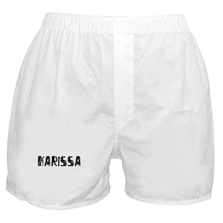 Karissa Faded (Black) Boxer Shorts