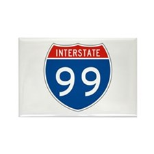 Interstate 99, USA Rectangle Magnet (10 pack)