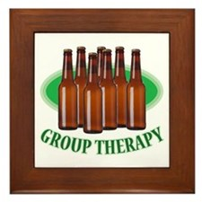 Group Therapy - Framed Tile