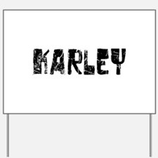 Karley Faded (Black) Yard Sign