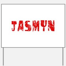 Jasmyn Faded (Red) Yard Sign