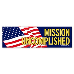 Mission Uncomplished