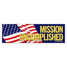 Mission Uncomplished