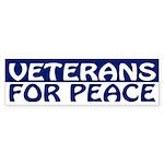 Veterans for Peace (bumper sticker)