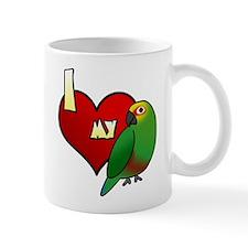 I Love my Golden-Capped Conure Small Mug