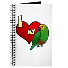 I Love my Golden-Capped Conure Journal