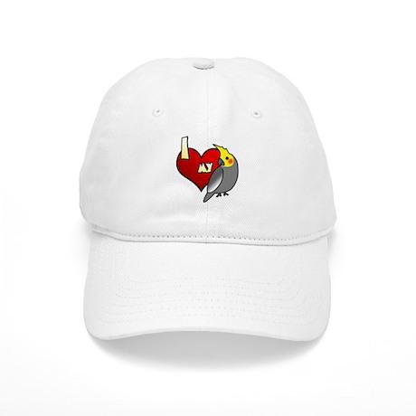 Love Male Gray Cockatiel Hat